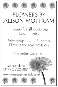 Flowers by Alison Mottram - Advertiser in the Parish Magazine