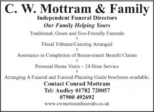 C.W. Mottram & Family - Advertiser in the Parish Magazine